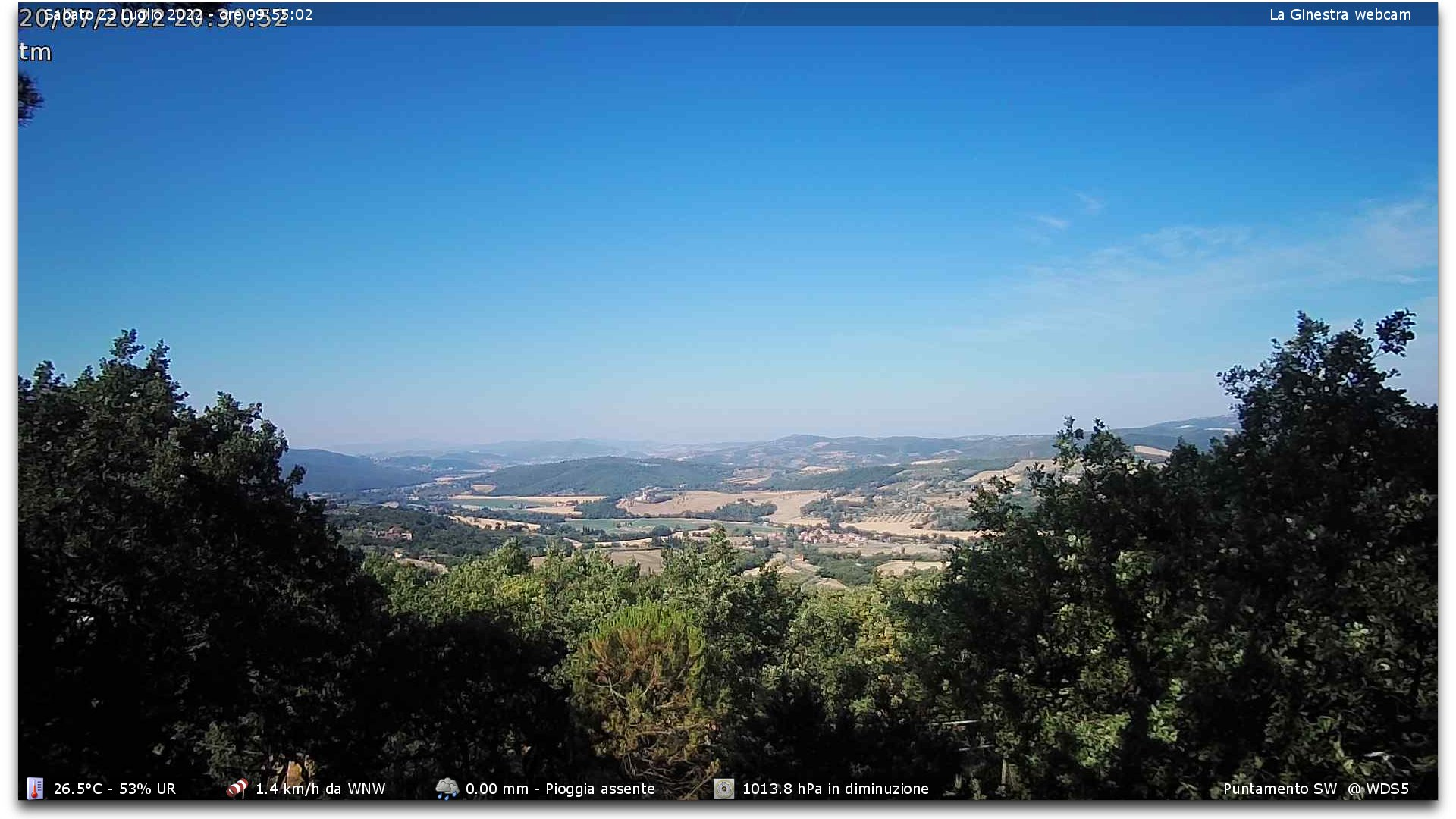 Webcam Perugia - Monte Tezio